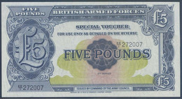 Ref. 4197-4700 - BIN GREAT BRITAIN . 1950. BRITISH ARMED FORCES 5 POUND 1950 - British Armed Forces & Special Vouchers
