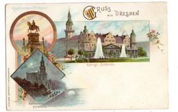 GRUSS Aus DRESDEN - Gruss Aus.../ Gruesse Aus...
