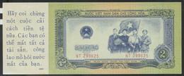 Ref. 3561-3998 - BIN NORTH VIETNAM . 1958. NORTH VIETNAM 2 DONG 1958 US PRINTED PROPAGANDA - Vietnam