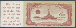 Ref. 3559-3996 - BIN NORTH VIETNAM . 1958. NORTH VIETNAM 1 DONG 1958 US PRINTED PROPAGANDA - Vietnam