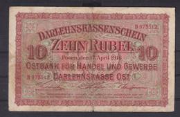 Ref. 3056-3479 - BIN LITHUANIA . 1916. LITHUANIA 10 RUBEL GERMANY 1916 - Lituanie