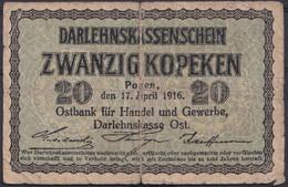 Ref. 3052-3475 - BIN LITHUANIA . 2020. LITHUANIA 20 KOPEKEN GERMANY 1916 - Lituanie