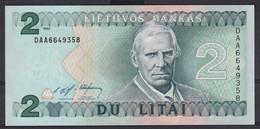 Ref. 2920-3343 - BIN LITHUANIA . 1993. LITHUANIA 2 LITAS 1993 - Lituanie