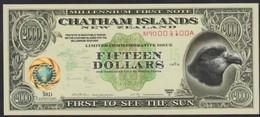 Ref. 2527-2950 - BIN NEW ZEALAND . 1999. NEW ZEALAND 15 DOLLARS 1999 CHATHAM ISLANDS - New Zealand