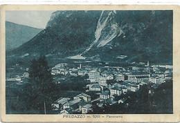 DP980- PREDAZZO - VAL DI FIEMME - F.P. VIAGGIATA 1935 - Andere Städte
