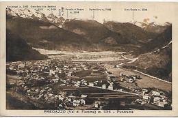DP978- PREDAZZO - VAL DI FIEMME - F.P. VIAGGIATA - Andere Städte