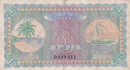 Ref. 1738-2161 - BIN MALDIVES . 1960. MALDIVAS 1 RUFIYAA 1947 MALDIVES - Maldives
