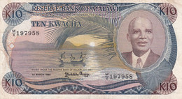 Ref. 1725-2148 - BIN MALAWI . 1964. 1988 MALAWI 10 KWACHA - Malawi