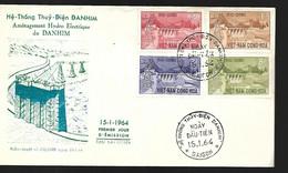 Vietnam  FDC  15 01  1964 Aménagement Hydroelectrique - Vietnam