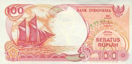 Ref. 661-1061 - BIN INDONESIA . 1992. 100 RUPEES INDONESIA RUPIAH 1992. 100 RUPEES INDONESIA RUPIAH 1992 - Indonesia