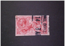 STAMPS GRAN BRETAGNA 1913 King George V 30. June    WM: 15   Perforation: IMPERF !! - Used Stamps