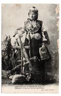 Militaria--Guerre 14-18 --Souvenir D'Orient  --Femme Serbe En Tenue De Fêtes...............à Saisir - Personaggi