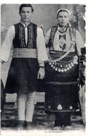 Militaria--Guerre 14-18 --Souvenir D'Orient  --Jeunes  Mariés Macédonniens ...............à Saisir - Personaggi