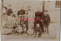 Photo J. Gelin à Montreuil Sous Bois-groupe De Personnes - Anciennes (Av. 1900)