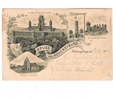 GRUSS Aus HOHENSYBURG  1898 - Gruss Aus.../ Gruesse Aus...