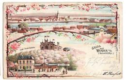GRUSS Aus WERDER  1902 - Gruss Aus.../ Gruesse Aus...