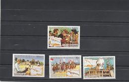 Guinée 1987 Yvert Série 825 à 827 + PA 216 ** Neuf Sans Charnière - Christophe Colomb - Guinee (1958-...)