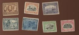 142/149 Zonder Franken*  Cote  100,--€.  Pleine Plakker En Klein Roest - Unused Stamps