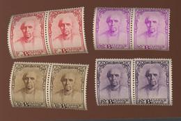 1932.  Petits Cardinal Mercier **  Cote  25,--€ La Série **  Postfris - Unused Stamps