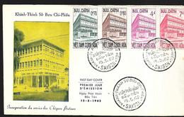 Vietnam  FDC 15 05 1962 Inauguration Du Service Des Chèques Postaux - Vietnam