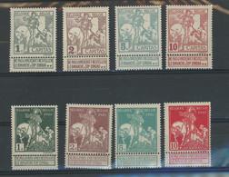 84/91*  St.Martin. Cote  35,--€ La Série *  TRES Légère Trace De Charnière - 1910-1911 Caritas