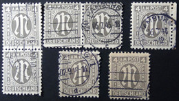 Germany - American And British Occupation Zones - 1945 - ?Mi:DE 2,11,18? - Different Colour, Perforation O - Look Scan - Zona Anglo-Americana