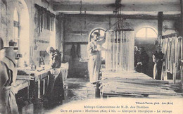 METIER Artisanat ( Religion Catholique ) 01 MARLIEUX Abbaye Cisterienne ND Des Bombes : Ciergerie Liturgique - Le Jetage - Artigianato