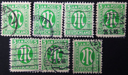 Germany - American And British Occupation Zones - 1945 - ?Mi:DE 3,12,19? O - Look Scan - Zona Anglo-Americana