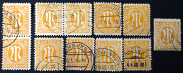 Germany - American And British Occupation Zones - 1945 - ?Mi:DE 4,13,20? - Different Colour, Perforation O - Look Scan - Zona Anglo-Americana