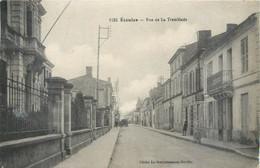 CPSM 17 Charente Maritime Etaules Rue De La Tremblade - Andere Gemeenten