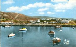 CPSM - AGADIR - VUE SUR LE PORT - Agadir