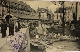 DIEPPE DÉBARQUEMENT DU POISSON - Dieppe