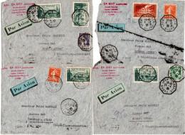Francia 1940 4 Aerogrammi Per L'Argentina VF/F - 1921-1960: Modern Period