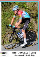 Bob Jungels  .Cyclisme 2020 - 1 Cards Aux Choix Format Carte Postal  (2) - Unclassified