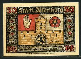 257-Altenburg Prinzenaubserie 8x50pf 1921 - [11] Emissions Locales