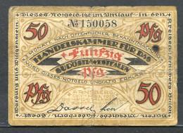 433-Arnsberg 50pf 1920 - [11] Emissions Locales