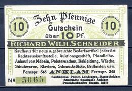 439-Anklan Richard Wilch Schneider 10pf - [11] Emissions Locales