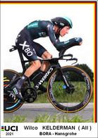 Wilco  Kelderman  .Cyclisme 2021 - 1 Cards Aux Choix Format Carte Postal  (1) - Unclassified