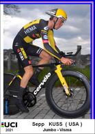 Sepp  Kuss  .Cyclisme 2021 - 1 Cards Aux Choix Format Carte Postal  (3) - Unclassified