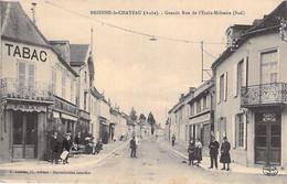 10 - BRIENNE Le CHATEAU : Grande Rue De L'Ecole Militaire ( Café Tabac PAQUETTE ) CPA Village ( 2.910 H ) - Aube - Autres Communes