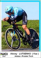 Alexey  Lutsenko  .Cyclisme 2021 - 1 Cards Aux Choix Format Carte Postal  (2) - Unclassified