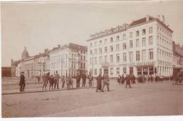 48490 -  Ostende  Ancienne  Photo  Format  Carte -  Gendarme  à  Vélo - Oostende