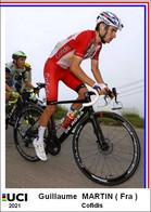 Guillaume  Martin  .Cyclisme 2021 - 1 Cards Aux Choix Format Carte Postal  (1) - Unclassified
