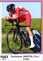 Guillaume  Martin  .Cyclisme 2021 - 1 Cards Aux Choix Format Carte Postal  (2) - Unclassified