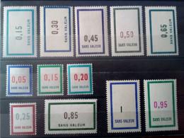 Lot Timbres Fictifs / France / Neufs ** / Série 1961 Incomplète - Phantom