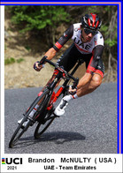 Brandon   McNulty  .Cyclisme 2021 - 1 Cards Aux Choix Format Carte Postal  (1) - Unclassified