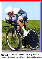 Louis   Meintjes  .Cyclisme 2021 - 1 Cards Aux Choix Format Carte Postal  (1) - Unclassified