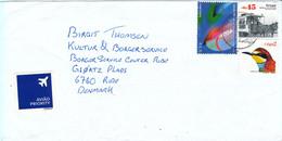 Portugal Cover Sent To Denmark 2007 - Lettere