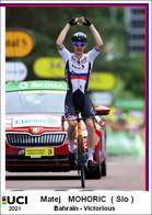 Matej  Mohoric  .Cyclisme 2021 - 1 Cards Aux Choix Format Carte Postal  (1) - Unclassified