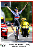 Matej  Mohoric  .Cyclisme 2021 - 1 Cards Aux Choix Format Carte Postal  (2) - Unclassified